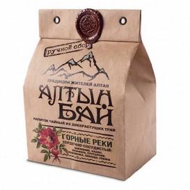 Чайный напиток из дикорастущих трав «ГОРНЫЕ РЕКИ» сердечно-сосудистый 100 г (Алтын бай)