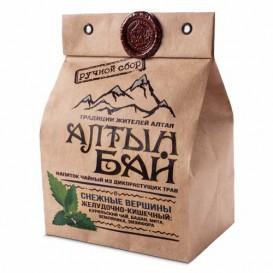 Чайный напиток из дикорастущих трав «СНЕЖНЫЕ ВЕРШИНЫ» желудочно-кишечный 100 г (Алтын бай)