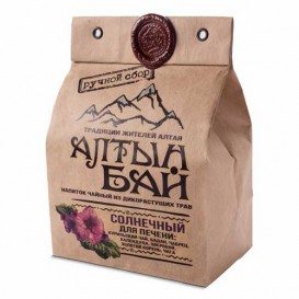Чайный напиток из дикорастущих трав «СОЛНЕЧНЫЙ» для печени 100 г (Алтын бай)