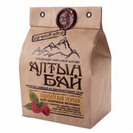 Чайный напиток из дикорастущих трав «ЗОЛОТАЯ ЛУНА» для здоровья женщин 100 г (Алтын бай)