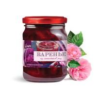 Варенье из лепестков розы 100 г,  340 г  (Алуштинский эфиромасличный совхоз-завод)