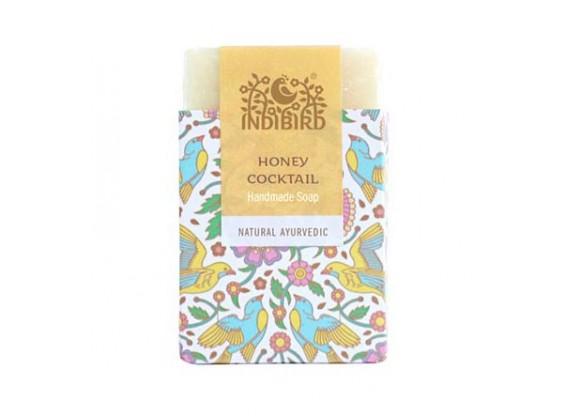 Аюрведическое мыло Медовый коктейль (Honey Cocktail Ayurvedic Soap) Indibird 100 г (Амрита мадья)