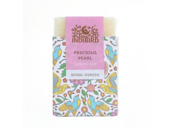Аюрведическое мыло Драгоценный жемчуг (Precious Pearl Ayurvedic Soap) Indibird 100 г (Амрита мадья)