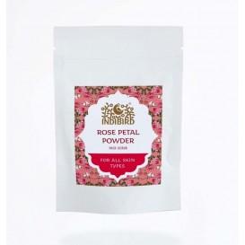 Порошок-маска Лепестки дамасской розы сухие (Rose Leaf Powder) 50 г (Амрита мадья)