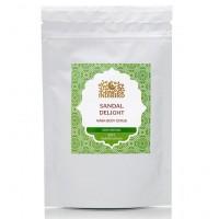 Порошок для тела Сандаловое Наслаждение (Sandal Delight Powder) Indibird 50 г, 100 г (Амрита)