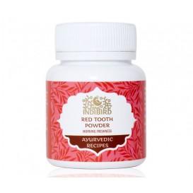 Зубной порошок Красный, Утренняя свежесть (Red Tooth Powder) 50 г (Амрита)