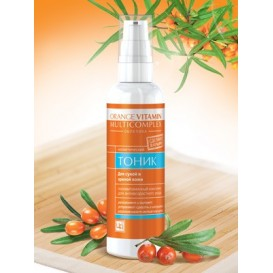 Тоник Orange Vitamin Multicomplex для ухода за сухой кожей 100 г (Царство Ароматов)