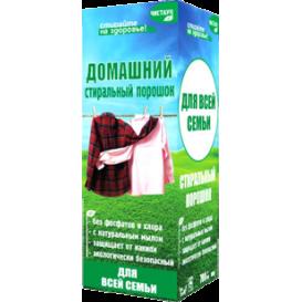 Бесфосфатный стиральный порошок ЧИСТАУН ДЛЯ ВСЕЙ СЕМЬИ (ДОМАШНИЙ) 500 г (Чистаун)