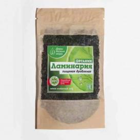 Ламинария (морская капуста) дробленая 60 г (Дары Белого моря)