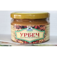 Урбеч из ассорти орехов 250 г (ДиДо)