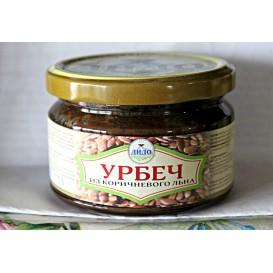 Урбеч из коричневого льна 250 г (ДиДо)
