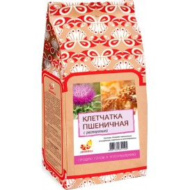 Клетчатка пшеничная с расторопшей 300 г (Дивинка)
