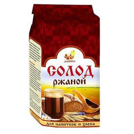 Солод ржаной ферментированный 500 г (Дивинка)