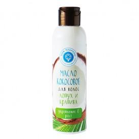 Кокосовое масло для волос Лопух и крапива: Укрепление и рост 150 мл (Мануфактура ДОМ ПРИРОДЫ)