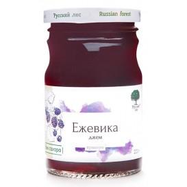 "Джем ""Ежевика"" без сахара, премиум 220 г (Русский лес)"