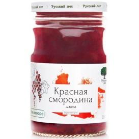"""Джем """"Красная смородина"""" без сахара, премиум 220 г (Русский лес)"""