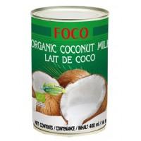 """Кокосовое молоко """"FOCO"""" органическое (жирность 10-12%) 400 мл"""