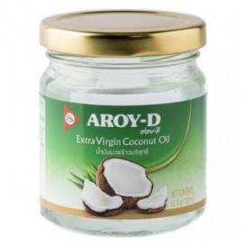 Кокосовое масло Aroy-D 180 мл (стеклянная банка)