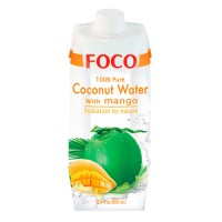 "Кокосовая вода ""FOCO"" с манго БЕЗ САХАРА 330 мл"