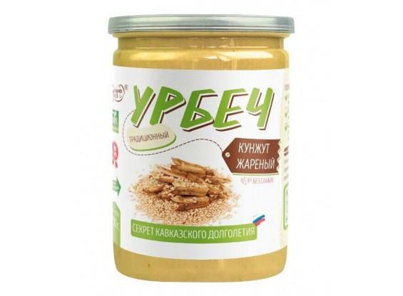Урбеч «Кунжут белый жареный» ТМ #Намажь_орех 230 г (Fun&Food)