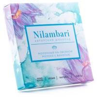 Шоколад Nilambari молочный на овсяном молоке с ванилью 65 г (GreenMania)