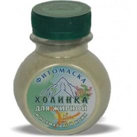 Фитомаска для жирной и нормальной кожи (Холинка)