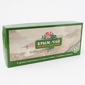 Набор подарочный 4 чая «Крым-чай» (зелёный) (Крым-чай)