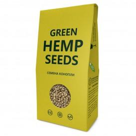 """Конопля семена """"Green Hemp seeds"""" Премиум 150 г (Компас Здоровья)"""