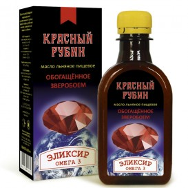 """Льняной эликсир """"Красный Рубин"""" 200 мл (Компас здоровья)"""