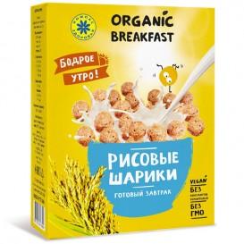 Готовый завтрак. Рисовые шарики. 100 г (Компас Здоровья)