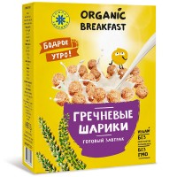 Готовый завтрак. Гречневые шарики. 100 г (Компас Здоровья)