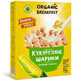 Готовый завтрак. Кукурузные шарики. 100 г