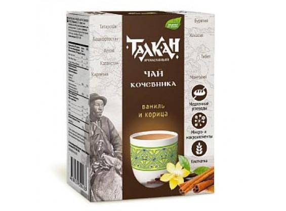 """Талкан """"Чай кочевника"""" чайный напиток с ванилью и корицей 150 г (Компас здоровья)"""
