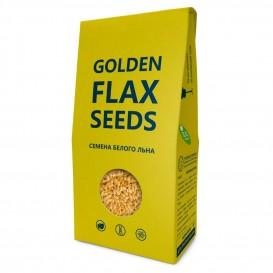 """Лен белый семена """"Golden flax seeds"""" Премиум 150 г (Компас здоровья)"""