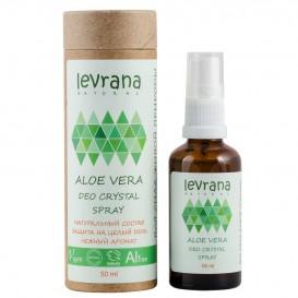 Натуральный дезодорант для тела Алоэ Вера 50 мл (Levrana)