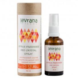 Натуральный дезодорант для тела Цитрусовая свежесть 50 мл (Levrana)