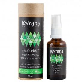 Натуральный дезодорант для тела Дикая мята 50 мл (Levrana)