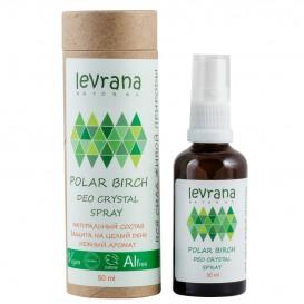 Натуральный дезодорант для тела Полярная береза 50 мл (Levrana)