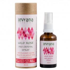 Натуральный дезодорант для тела Дикая Роза 50 мл (Levrana)