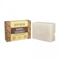 Мыло натуральное КОКОС ручной работы 100 г (Levrana)