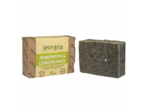 Мыло натуральное ЛЕМОНГРАСС ручной работы 100 г (Levrana)