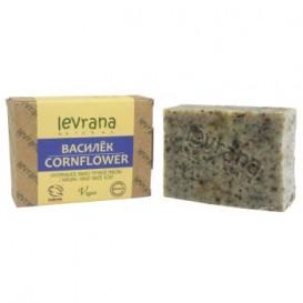 Мыло натуральное ВАСИЛЕК ручной работы 100 г (Levrana)