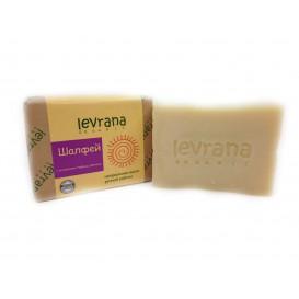 Мыло натуральное ШАЛФЕЙ ручной работы 100 г (Levrana)