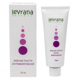 Зубная паста «Антимикробная» с лавандой и магнолией 75 мл (Levrana)