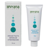 Зубная паста «Бережное отбеливание» 75 мл (Levrana)