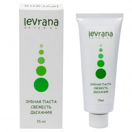Зубная паста «Свежесть дыхания» 75 мл (Levrana)