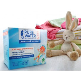 Стиральный порошок для детского белья PURE WATER 800 г (PURE WATER)