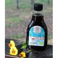 Органический темный сироп голубой агавы 660 мл  (Organica For All)
