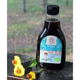 Органический темный сироп голубой агавы, 660 мл