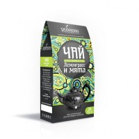 Чай лемонграсс и мята RELAX 40 г (20 фп х 2 г) (Polezzno)